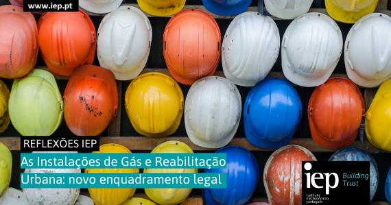 As instalações de Gás e Reabilitação Urbana