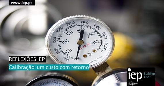 Calibração: um custo com retorno