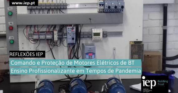Comando e proteção de motores elétricos de BT