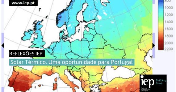 Solar Térmico. Uma oportunidade para Portugal
